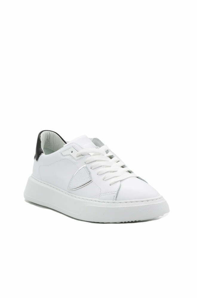 SCARPA PHILIPPE MODEL BLANC NOIR DA DONNA TEMPLE LOW WOMAN