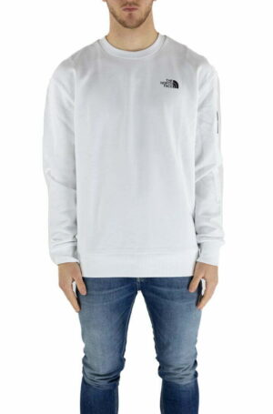 FELPA THE NORTH FACE WHITE DA UOMO NF0A557G
