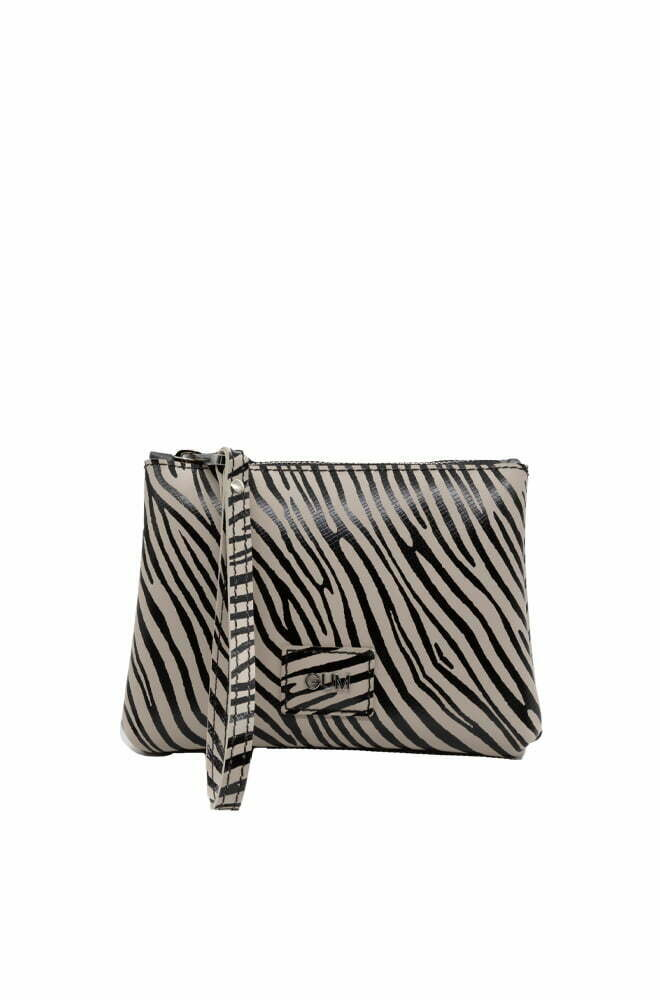 BORSA GUM ZEBRA NERO DA DONNA BC4051 RE BUILD